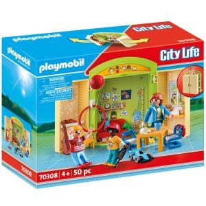 Playmobil Leklåda - På förskolan