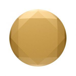 POPSOCKETS Metallic Diamond Medallion Gold Avtagbart Grip med Ställfunktion Premium