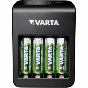 Varta LCD Plug Carger+ AA/AAA/9V + U