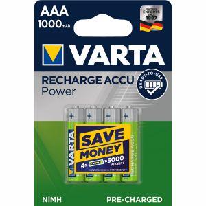 Varta Laddningsbart batteri AAA 1000