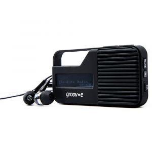 GROOV-E Radio Rio DAB/DAB+/FM Portabel Svart