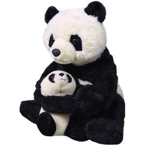 Wild Republic Mom & Baby Panda