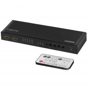 LogiLink HDMI Matrix-switch 4K/60Hz ARC