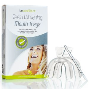 Tandbleknings Munskena 2-pack med applikator