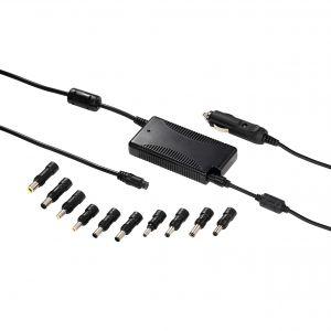 HAMA Nätdel Notebook Universal 12-30V 15-19V/90W 10x Adapter
