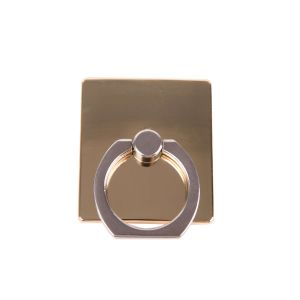 GEAR MobilRing   Guld Metal Shine Roterande Fingerhållare med Ställfunktion