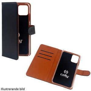 """Celly Wallet Case iPhone 12 5,4"""" Sva"""