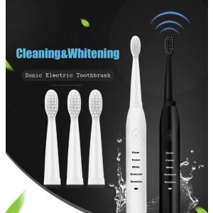 Powerful Sonic Electric Toothbrush - Rechargeable
