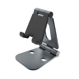 DESIRE2 Skrivbordsställ Dubbelledad Tablets och Mobil Svart