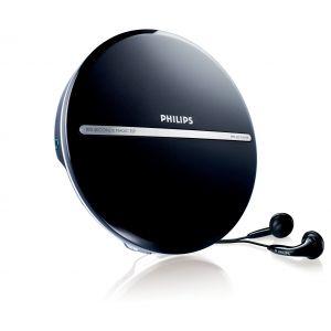 Philips Bärbar CD MP3 Anti-skakminne