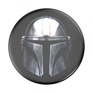 POPSOCKETS Star Wars Mandalorian Avtagbart Grip med Ställfunktion Premium