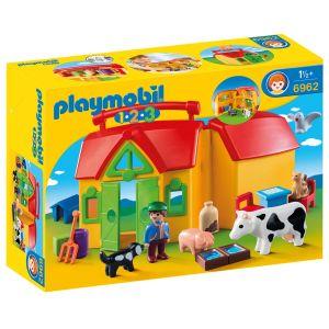 Playmobil 1.2.3, Bondgård med djur