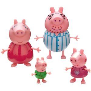 Greta Gris Peppa Pig Bedtime Family Pack