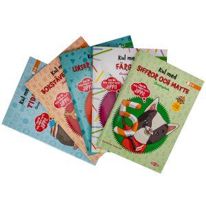 Tactic Lärböcker 5-pack