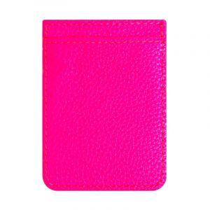 IDECOZ Kortficka för Mobiltelefon Neon Rosa