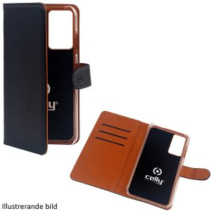 Celly Wallet Case Galaxy S21+ Svart