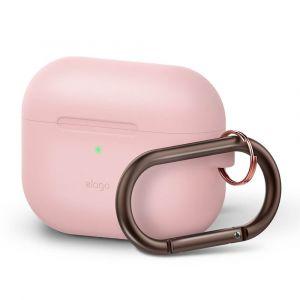 ELAGO Skyddsväska för Airpod Pro med Hängare Rosa
