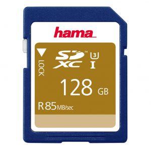 HAMA Minneskort SDXC 128GB 85MB/s Class 3
