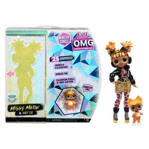 Surprise OMG Winter Chill Missy Meow doll