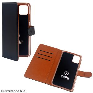 """Celly Wallet Case iPhone 12 6,1"""" Sva"""