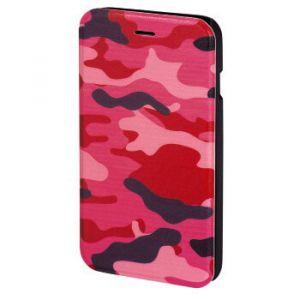 HAMA Plånboksväska DesignLine iPhone6/6S Camo Rosa