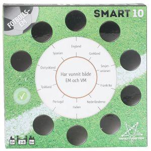 Peliko Smart10 Frågekort Fotbolls EM