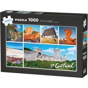 Kärnan Pussel Gotland 1000 bit