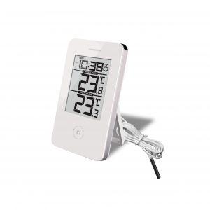 TERMOMETERFABRIKEN Termometer och Klocka Digital