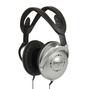 KOSS Hörlur UR18 Over Ear Silver