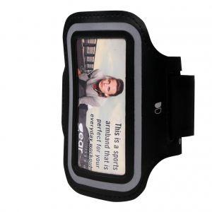 "GEAR Sportarmband Universal 4,7"" ex. iPhone 6/7/8/SE Svart"
