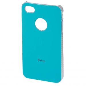 Hama iPhone 4 skal Shiny turkos Hårdplast