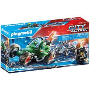 Playmobil Poliskart: Jakten på kassaskåp