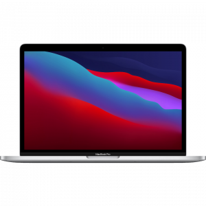 "Apple MacBook Pro 13"" 256GB, M1, Silver (2020) - OBS! Fyndvara Klass 1"